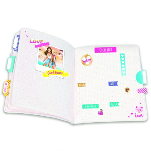 TOPModel stickerboek gold