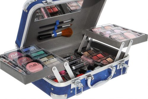 make-up koffer traveller blue