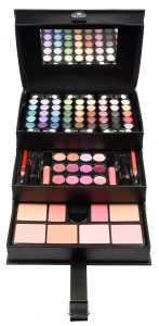 Make-up koffer Beauty Case Black 82-delig