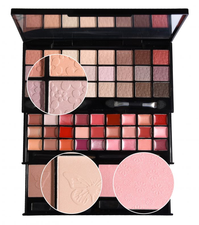 Briconti make-up doos Upstairs II Rose-gold