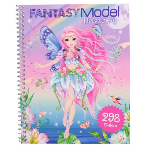 Fantasymodel dress me up stickerboek