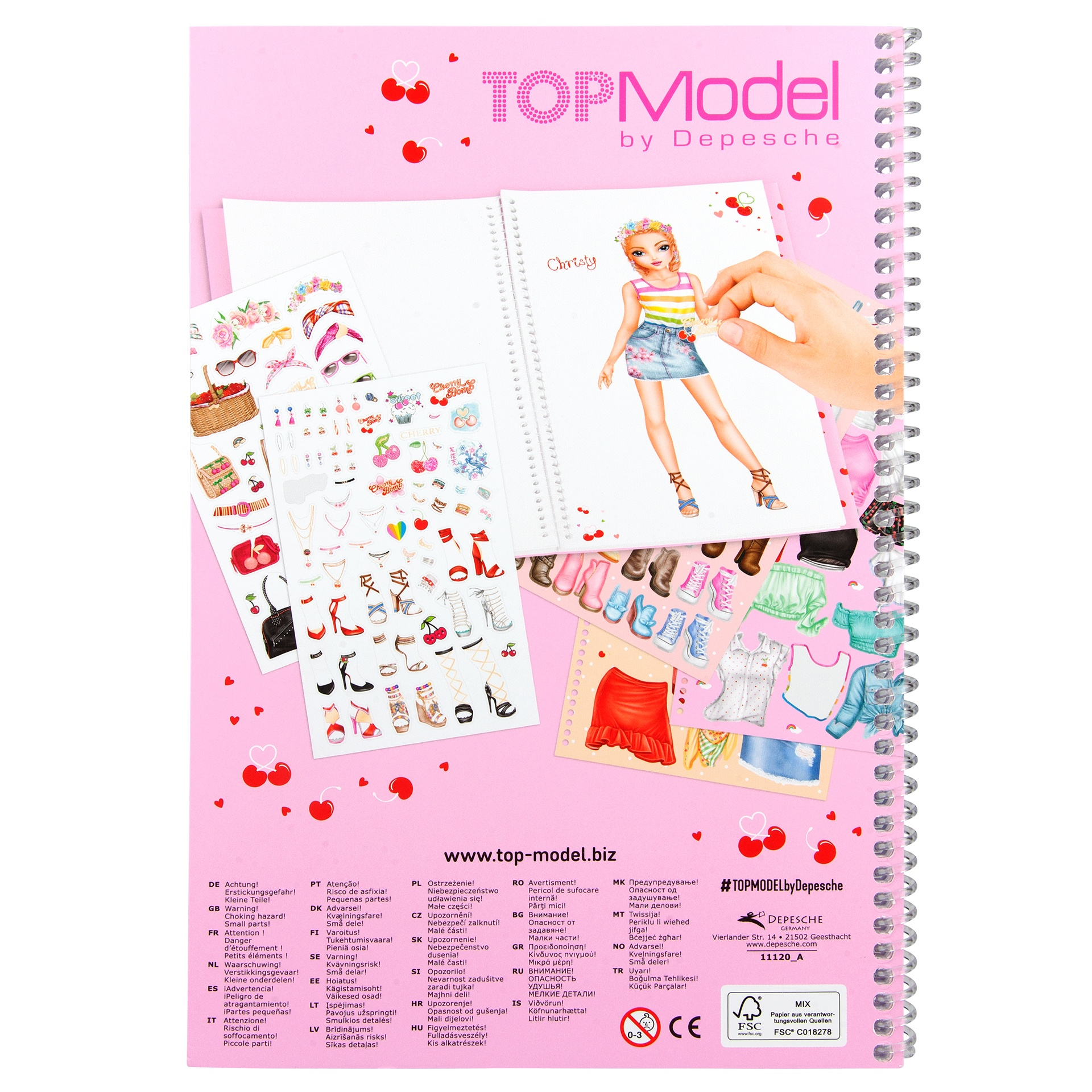 TOPModel Dress me up CHERRY BOMB