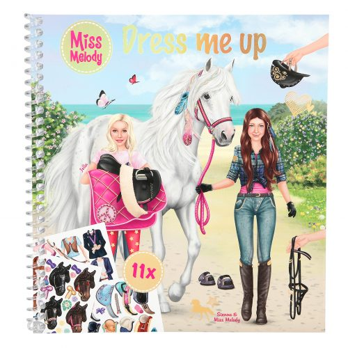 Miss Melody Dress Me Up stickerboek