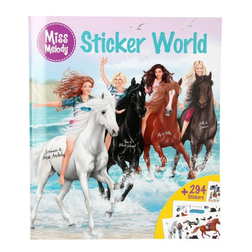 Miss Melody stickerboek